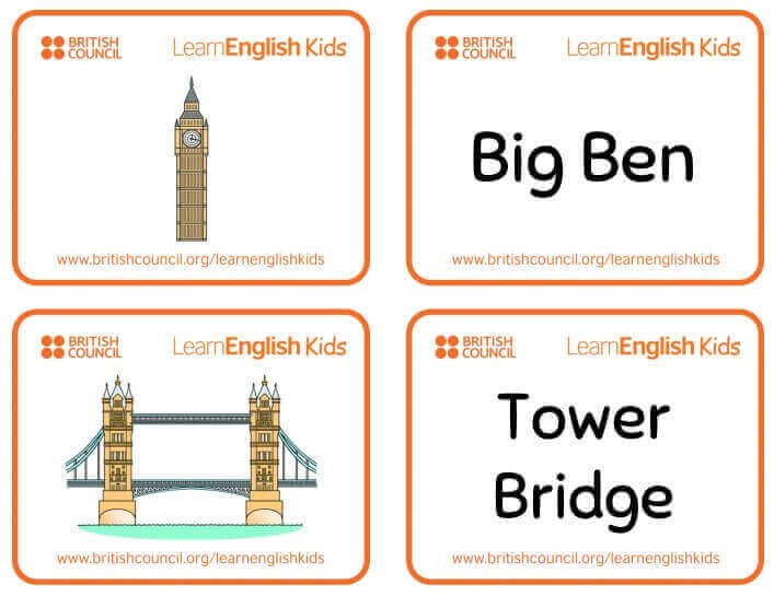 LearnEnglish Kids Flashcards 閃卡
